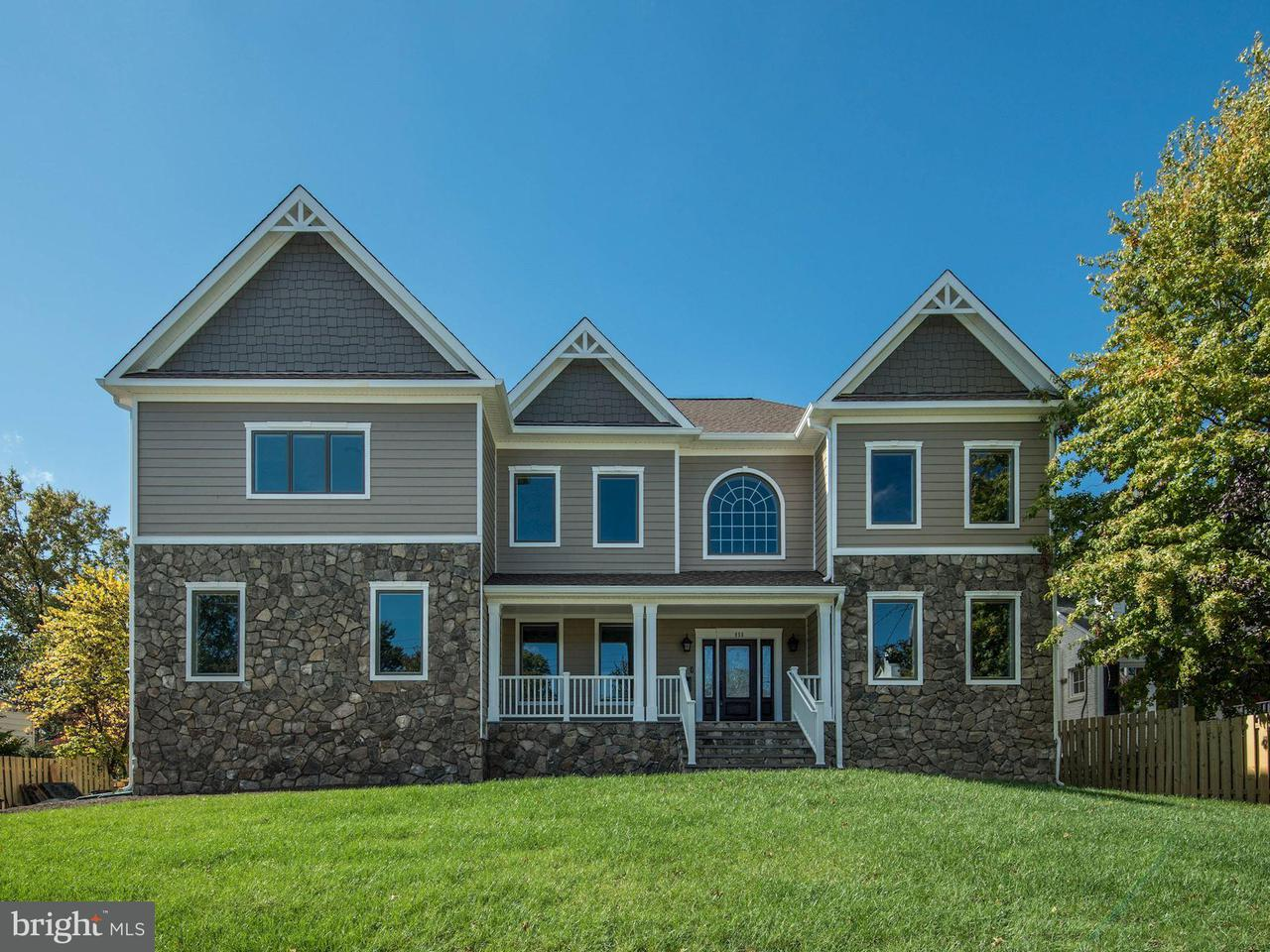 Eensgezinswoning voor Verkoop een t 856 N HARRISON Street 856 N HARRISON Street Arlington, Virginia 22205 Verenigde Staten