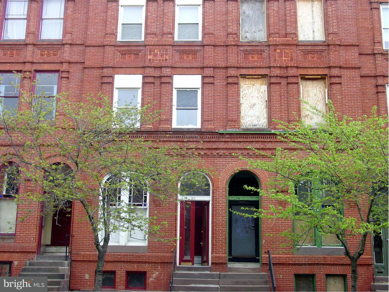 Other Residential for Sale at 1811 Saint Paul St Baltimore, Maryland 21202 United States