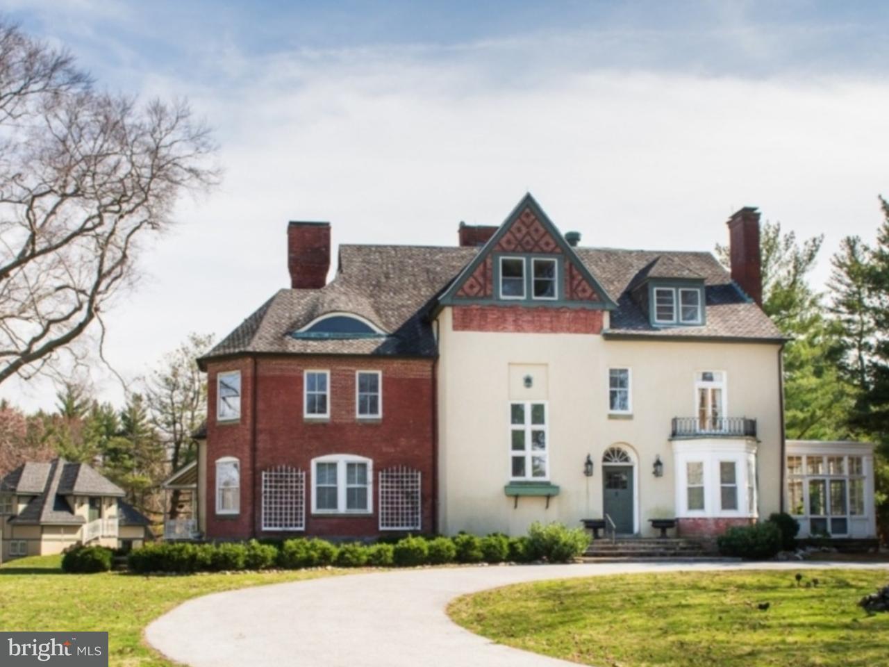 Частный односемейный дом для того Продажа на 111 CHERRY Lane Wynnewood, Пенсильвания 19096 Соединенные Штаты