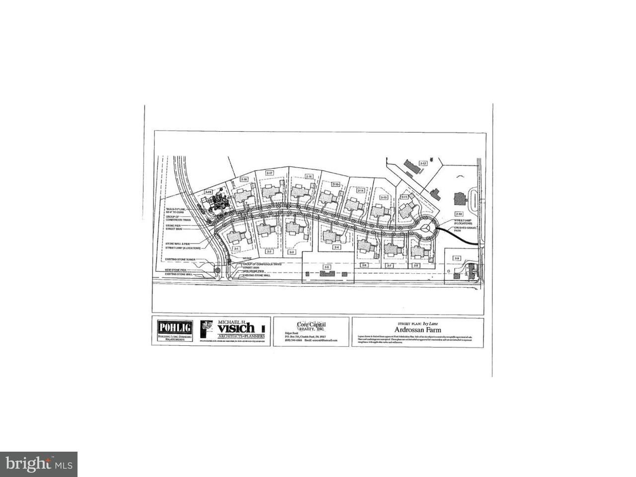 Additional photo for property listing at Lot 8 IVY Lane  Villanova, Pennsylvania 19085 Estados Unidos