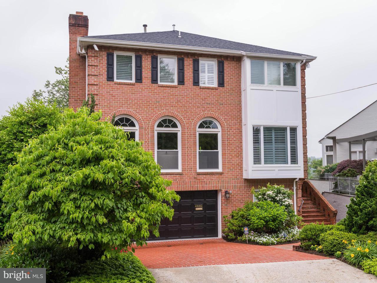 Maison unifamiliale pour l Vente à 4662 CHARLESTON TER NW 4662 CHARLESTON TER NW Washington, District De Columbia 20007 États-Unis