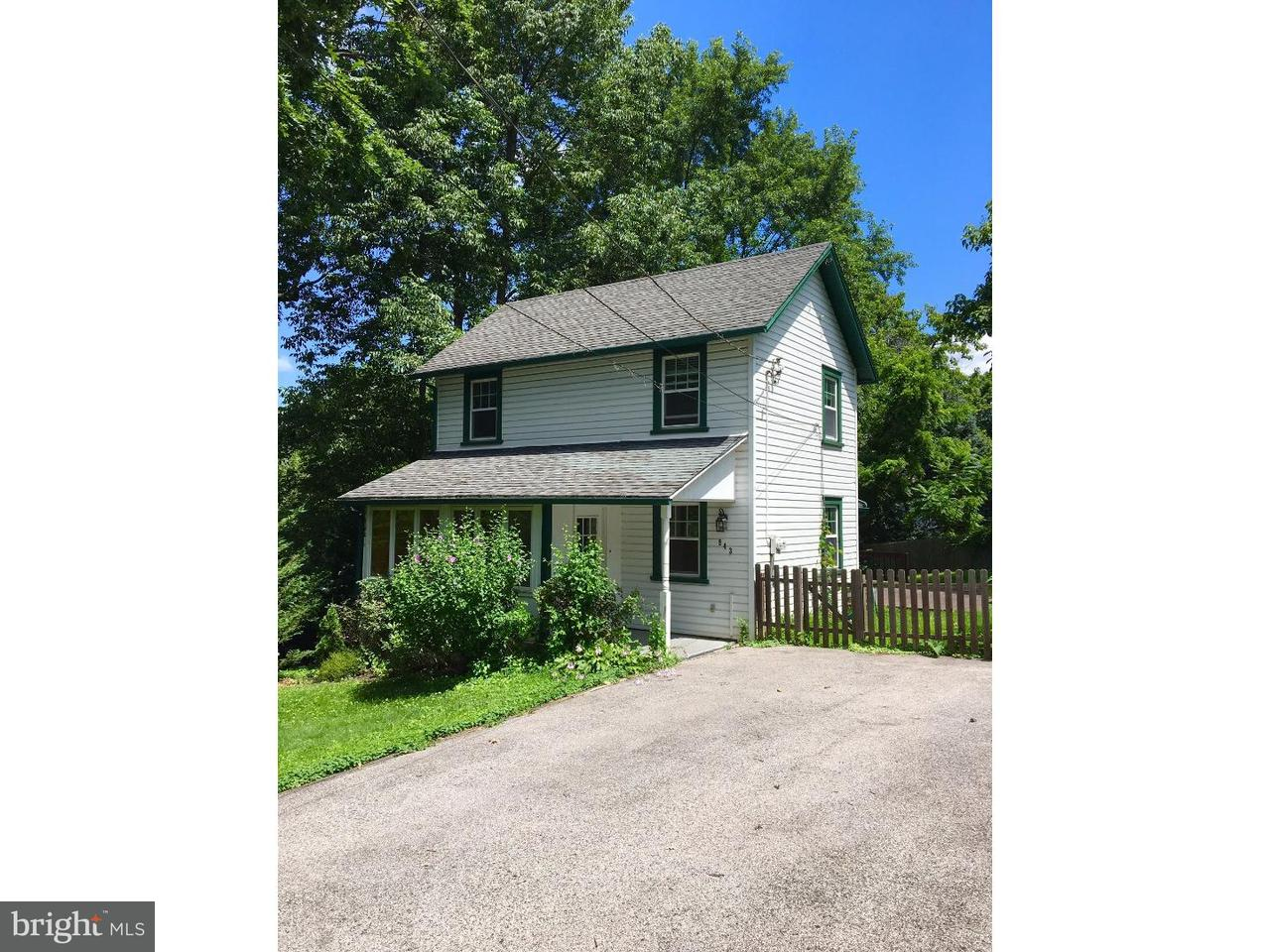 Single Family Home for Rent at 943 FAIRVIEW Avenue Wayne, Pennsylvania 19087 United States