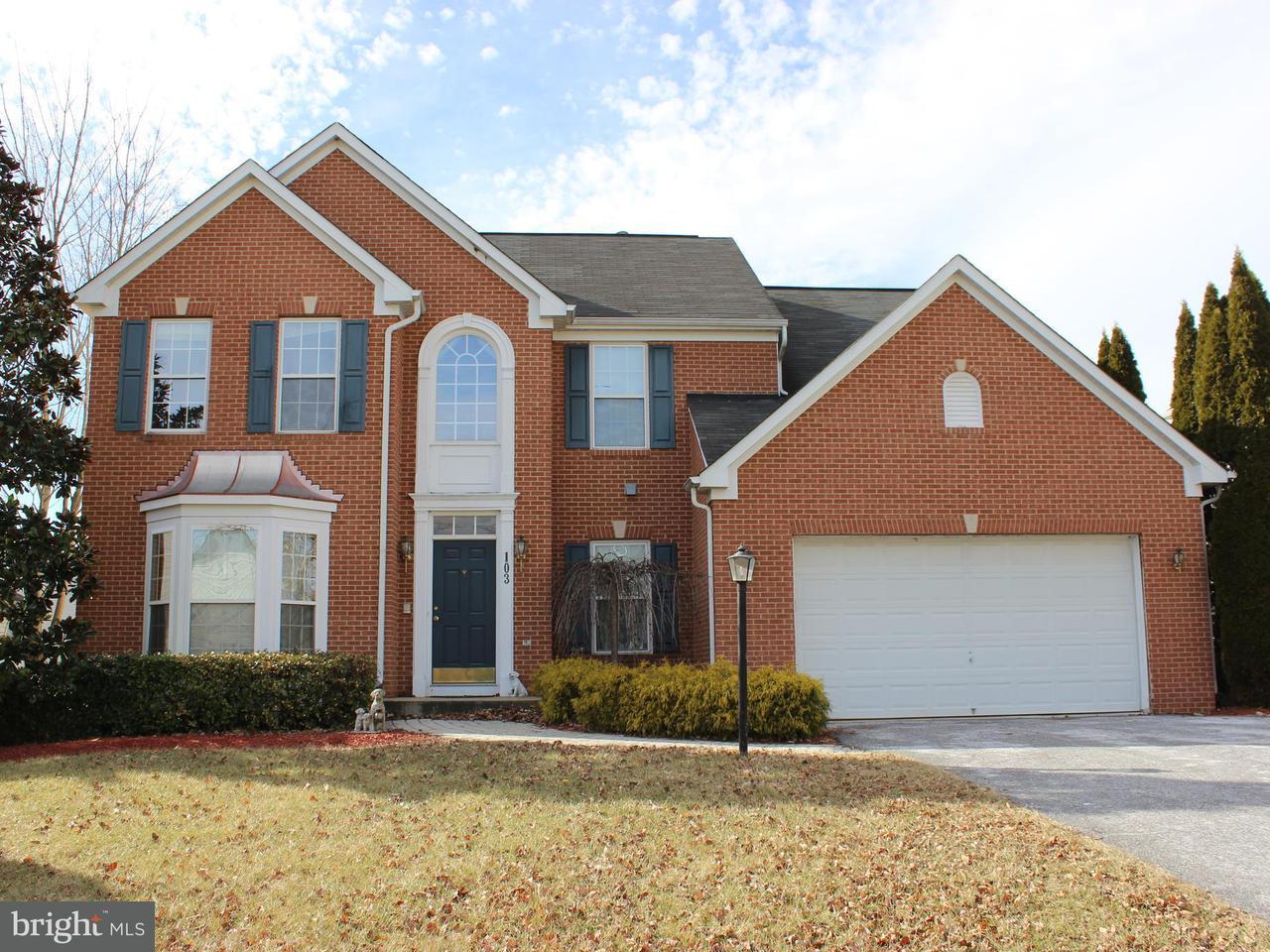 단독 가정 주택 용 매매 에 103 Phoenix Court 103 Phoenix Court Walkersville, 메릴랜드 21793 미국