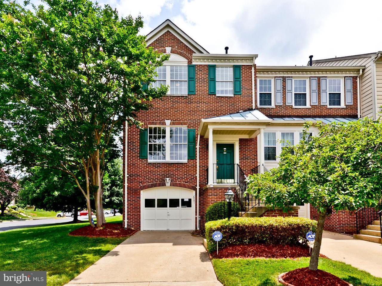 Townhouse for Sale at 6001 KESTNER Circle 6001 KESTNER Circle Alexandria, Virginia 22315 United States