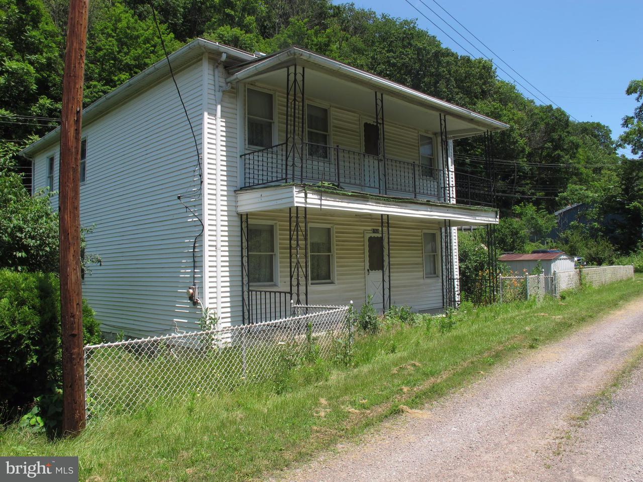 Single Family for Sale at 17639 Pekin St Lonaconing, Maryland 21539 United States