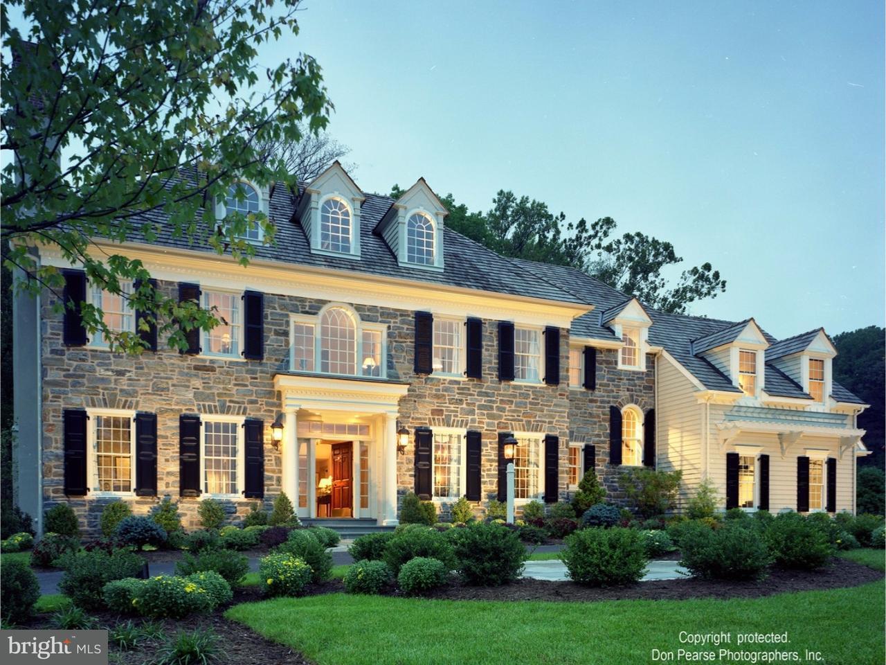 Maison unifamiliale pour l Vente à 1579 HIGHGROVE Lane Malvern, Pennsylvanie 19355 États-Unis