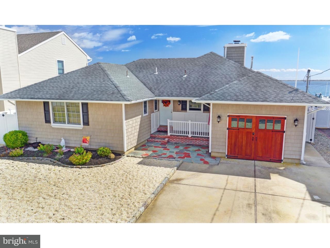 Maison unifamiliale pour l Vente à 639 BAYVIEW Drive Toms River, New Jersey 08753 États-Unis