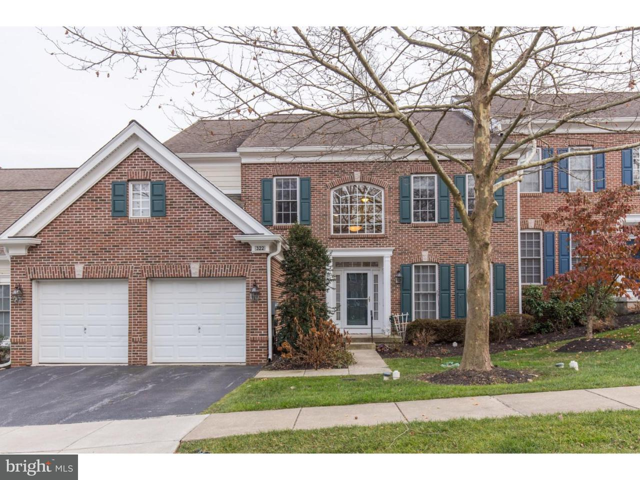 Townhouse for Rent at 322 ARTHUR Court Newtown Square, Pennsylvania 19073 United States