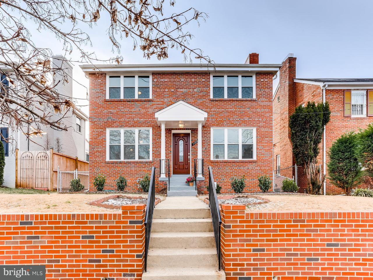 Single Family Home for Sale at 1360 Underwood St Nw 1360 Underwood St Nw Washington, District Of Columbia 20012 United States