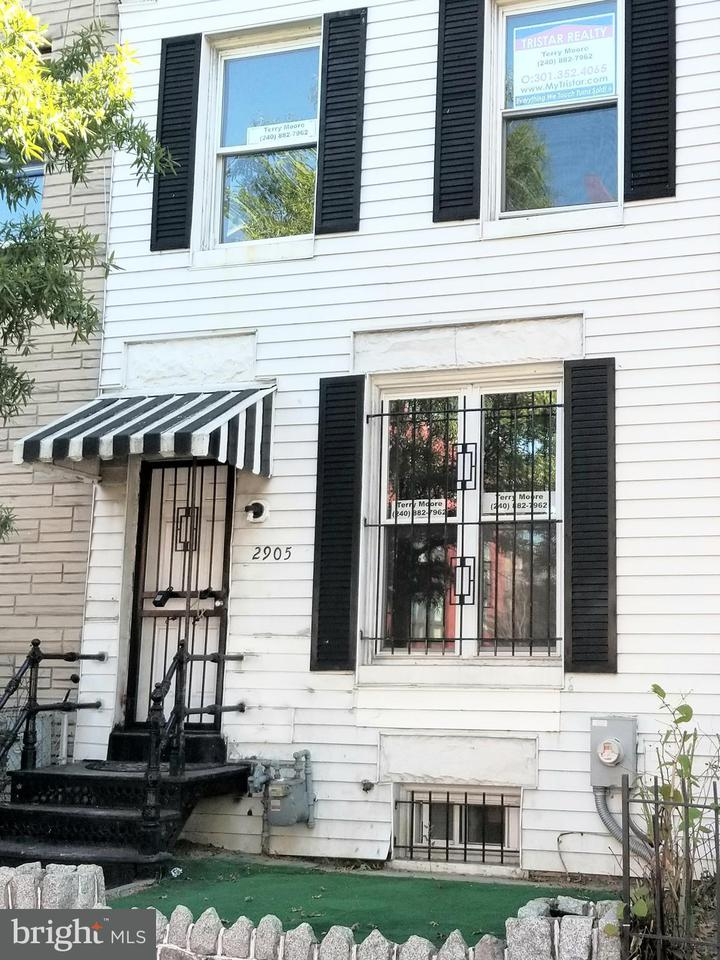 タウンハウス のために 売買 アット 2905 Georgia Ave Nw 2905 Georgia Ave Nw Washington, コロンビア特別区 20001 アメリカ合衆国