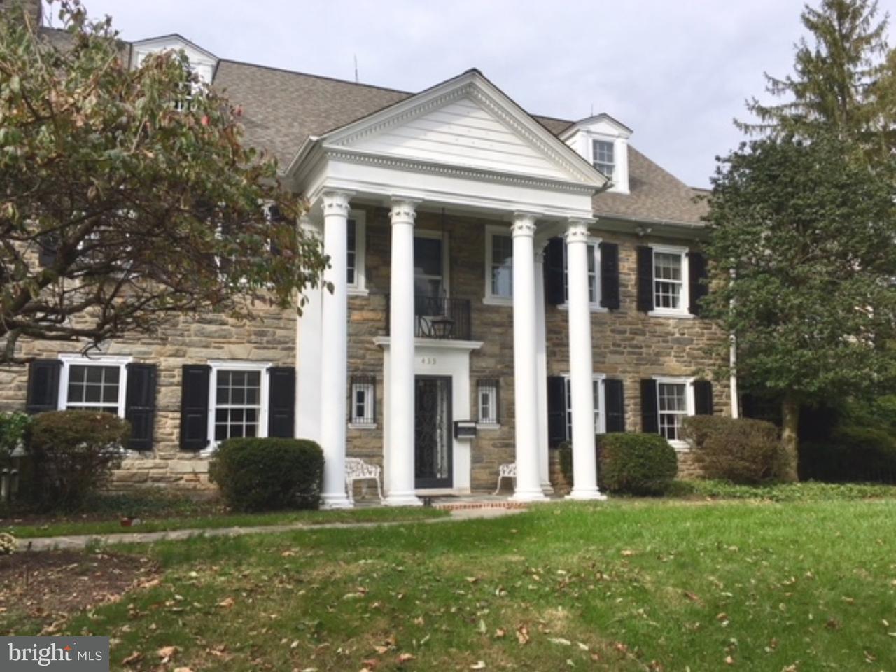 Частный односемейный дом для того Продажа на 433 WARICK Road Wynnewood, Пенсильвания 19096 Соединенные Штаты