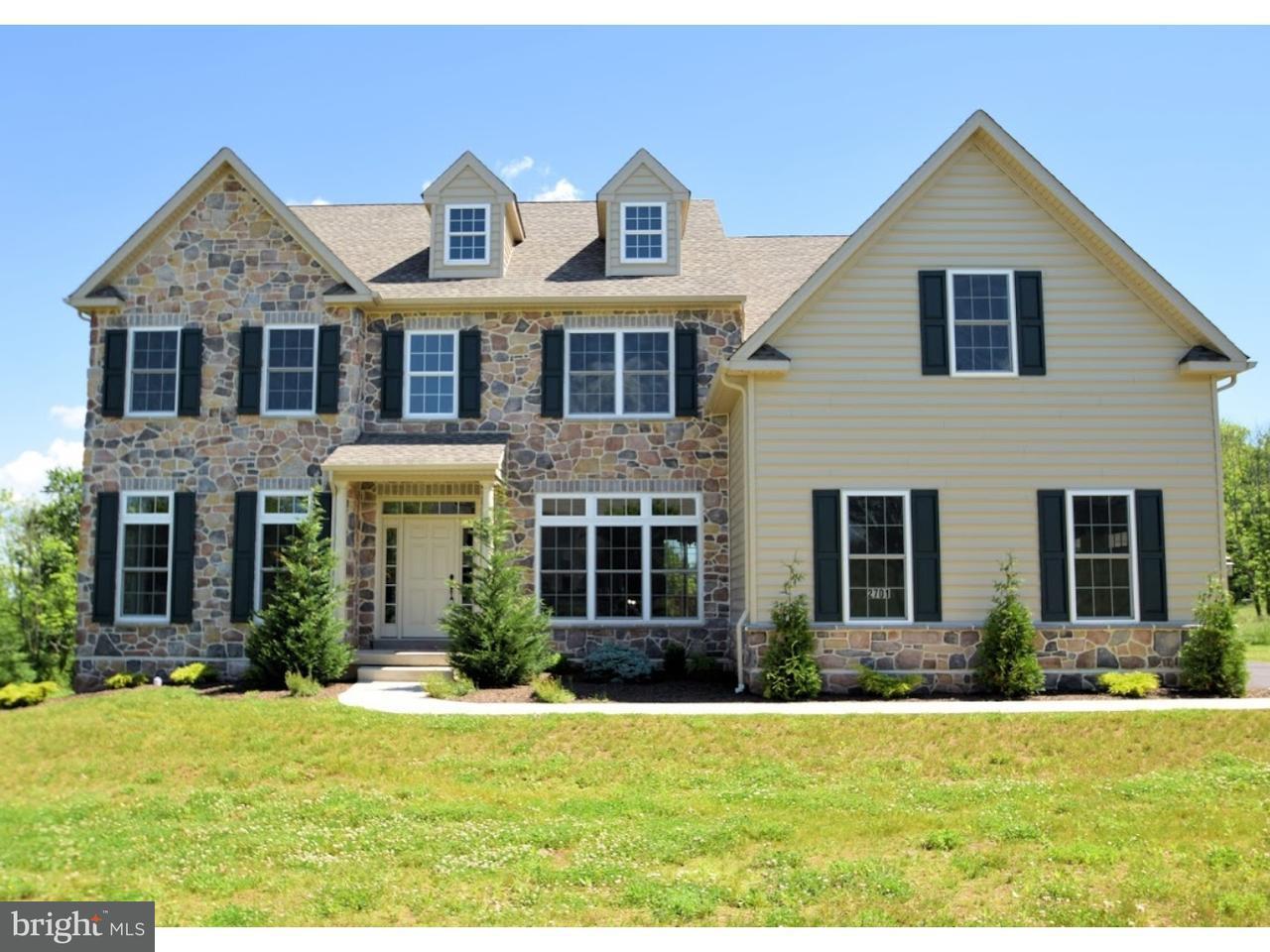 Maison unifamiliale pour l Vente à 2701 APPLEWOOD Drive Worcester, Pennsylvanie 19403 États-Unis