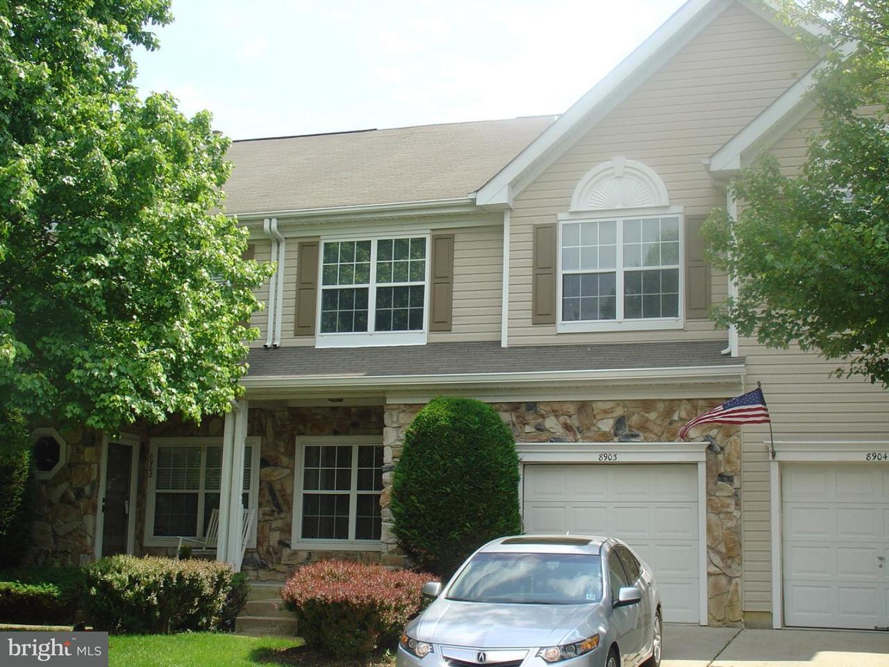Таунхаус для того Аренда на 8903 NORMANDY Drive Mount Laurel, Нью-Джерси 08054 Соединенные Штаты