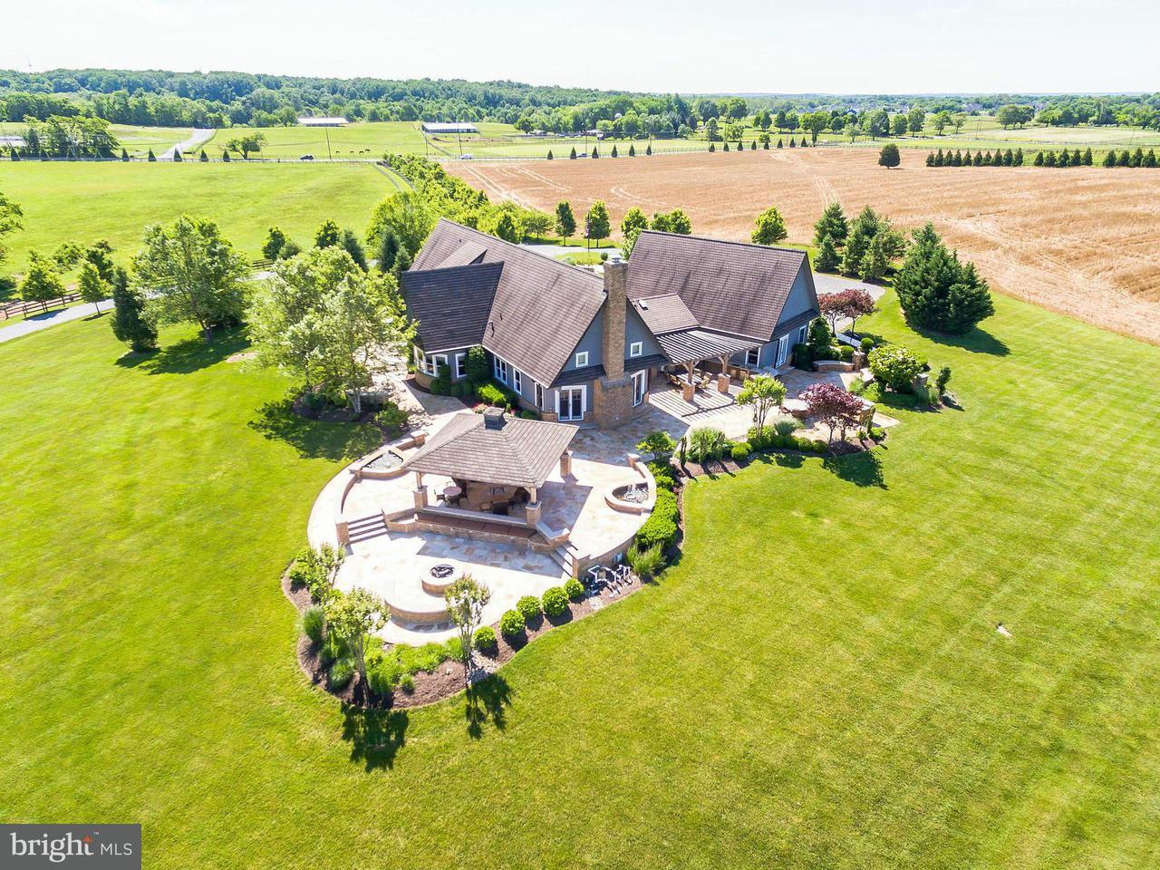 Maison unifamiliale pour l Vente à 18900 BEALLSVILLE Road 18900 BEALLSVILLE Road Poolesville, Maryland 20837 États-Unis
