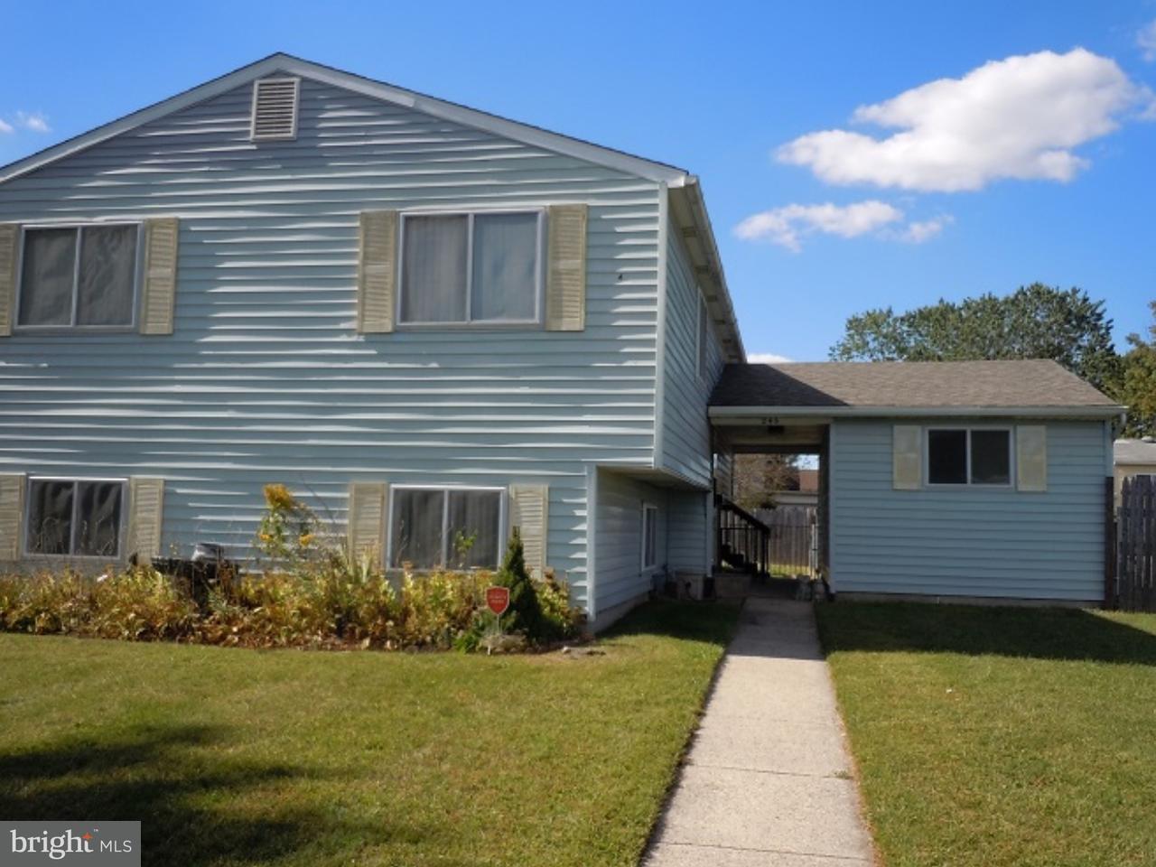 独户住宅 为 销售 在 245 PRINCETON Avenue Pemberton, 新泽西州 08068 美国