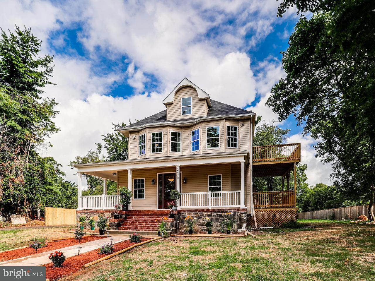 Single Family for Sale at 2420 Rogers Ave Baltimore, Maryland 21209 United States