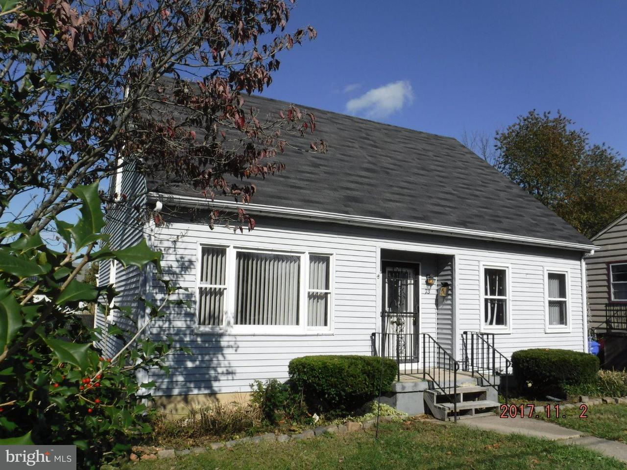 Casa Unifamiliar por un Alquiler en 73 W 7TH Street Burlington, Nueva Jersey 08016 Estados Unidos