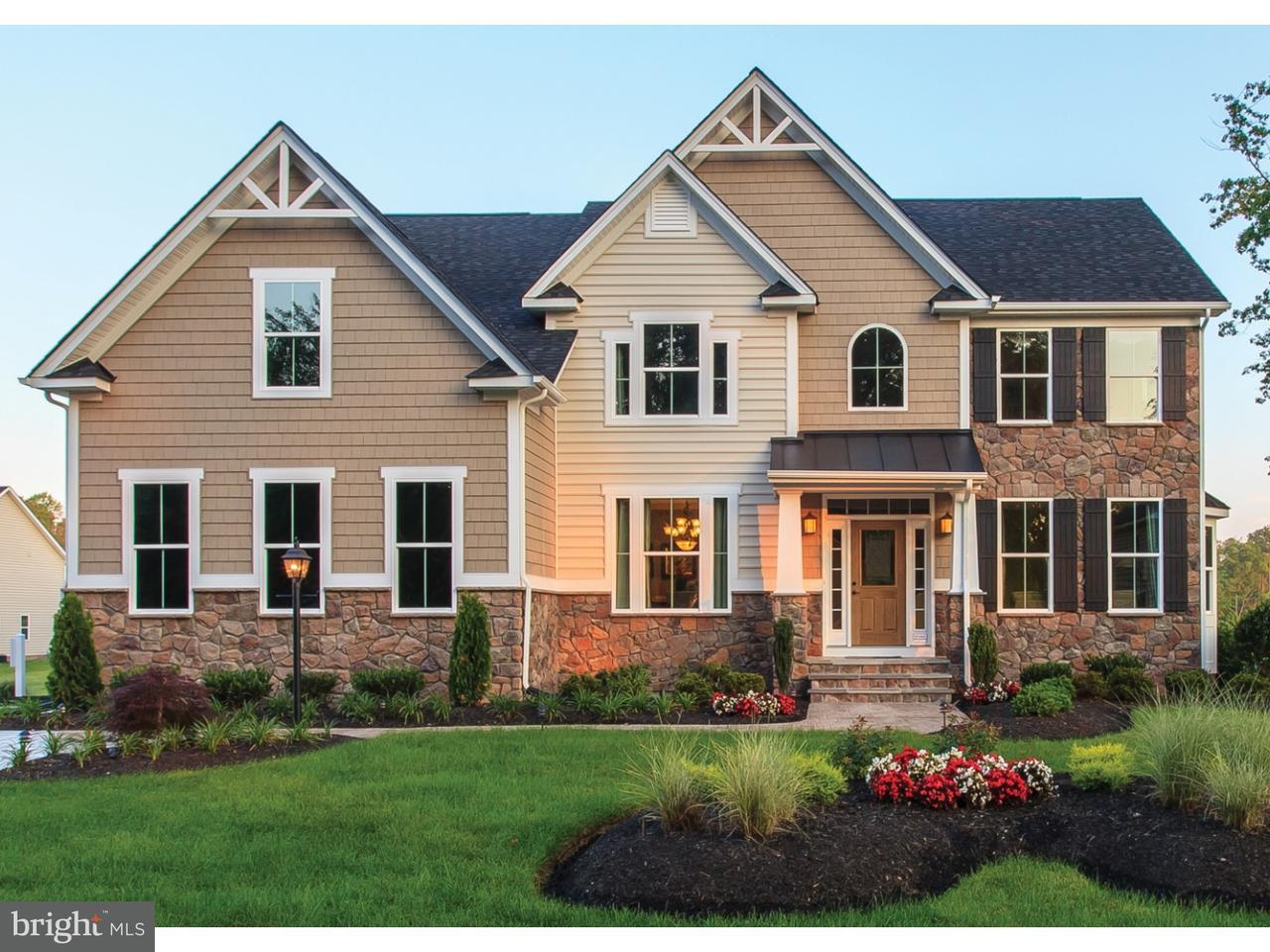Maison unifamiliale pour l Vente à 4 PEAR TREE Court Delran, New Jersey 08075 États-Unis