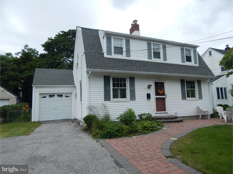 Частный односемейный дом для того Продажа на 217 KING Avenue Haddon Township, Нью-Джерси 08108 Соединенные Штаты