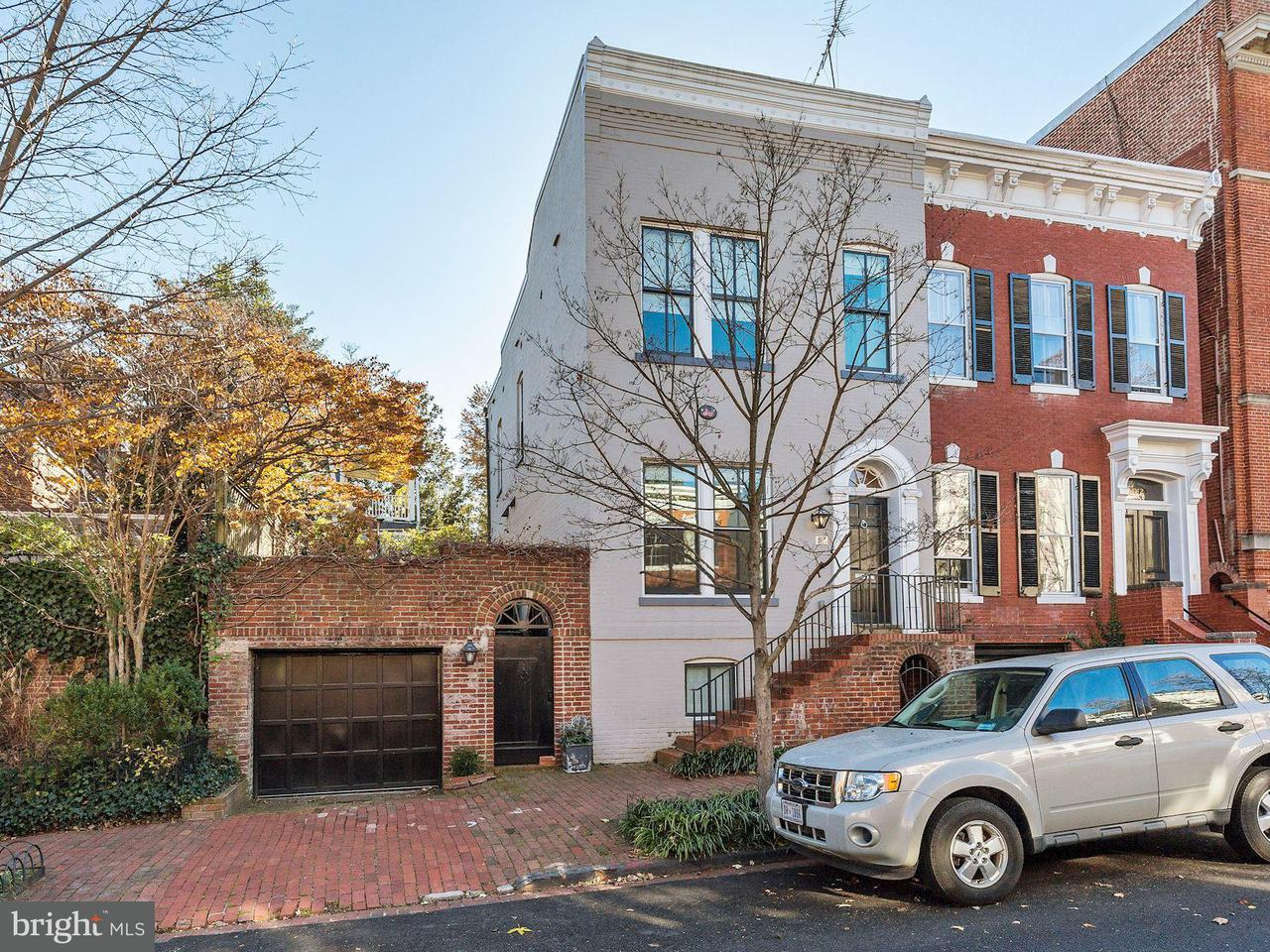 Townhouse for Sale at 3010 DUMBARTON ST NW 3010 DUMBARTON ST NW Washington, District Of Columbia 20007 United States