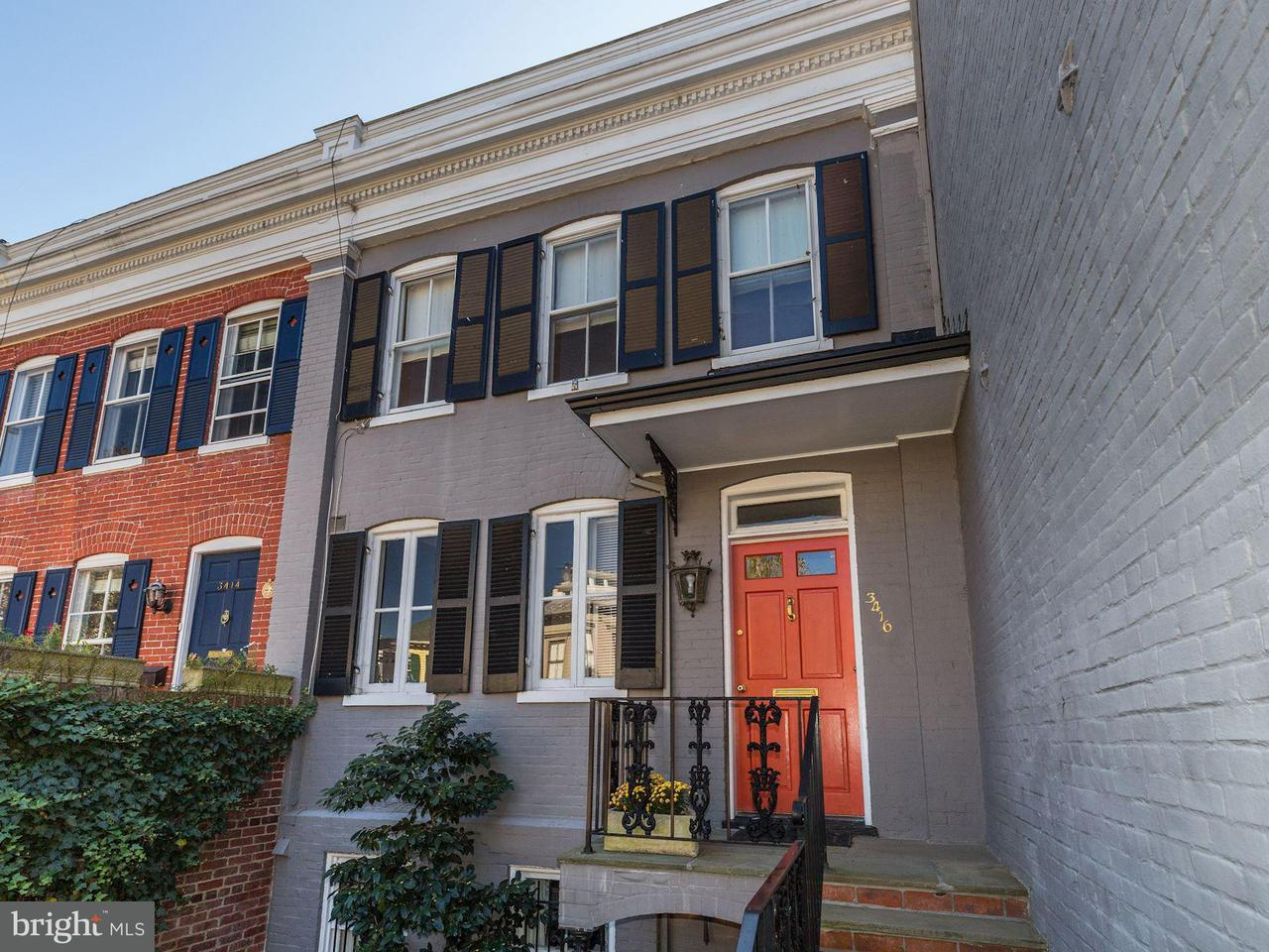 Townhouse for Sale at 3416 PROSPECT ST NW 3416 PROSPECT ST NW Washington, District Of Columbia 20007 United States