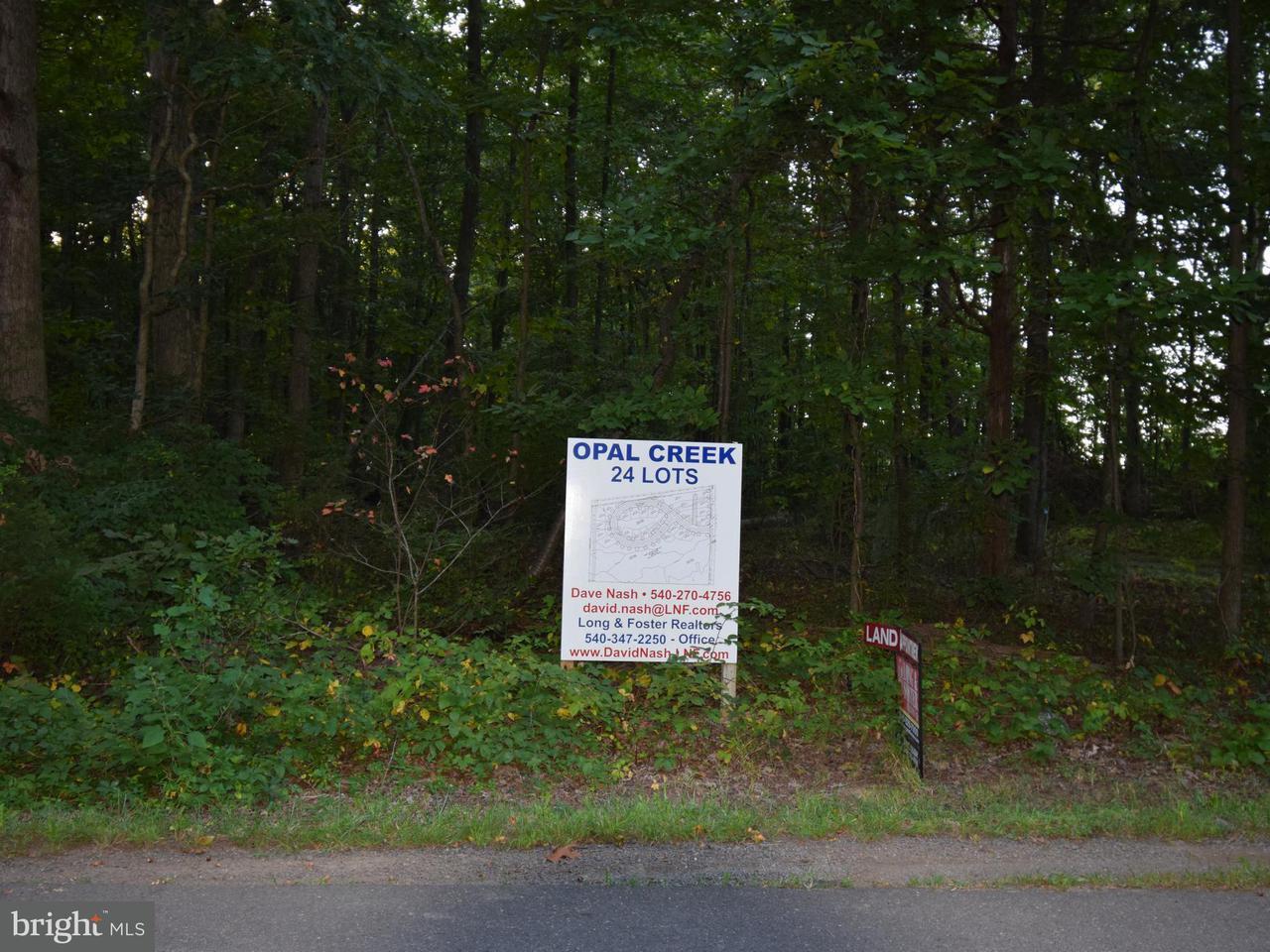 Terreno por un Venta en 10012 CLARKES Road 10012 CLARKES Road Bealeton, Virginia 22712 Estados Unidos