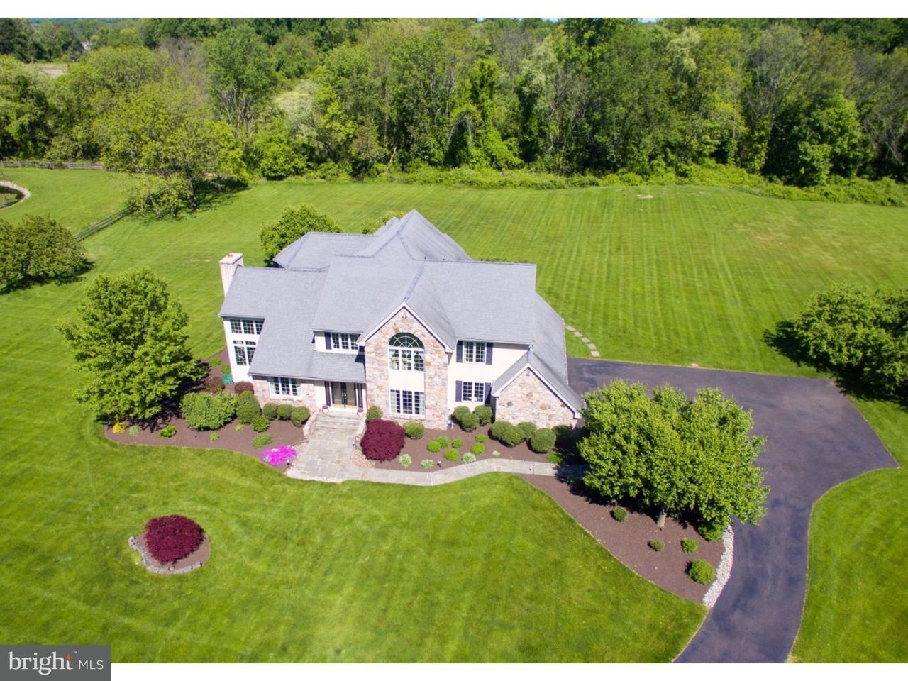 Частный односемейный дом для того Продажа на 12 SKYVIEW Drive Ivyland, Пенсильвания 18974 Соединенные Штаты