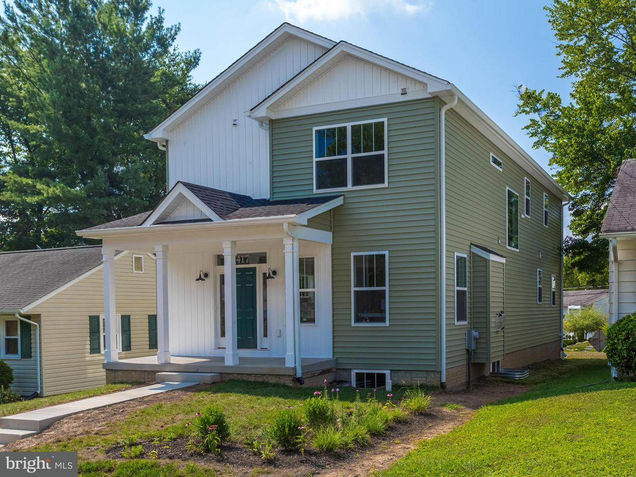 Single Family for Sale at 417 Park Rd Rockville, Maryland 20850 United States