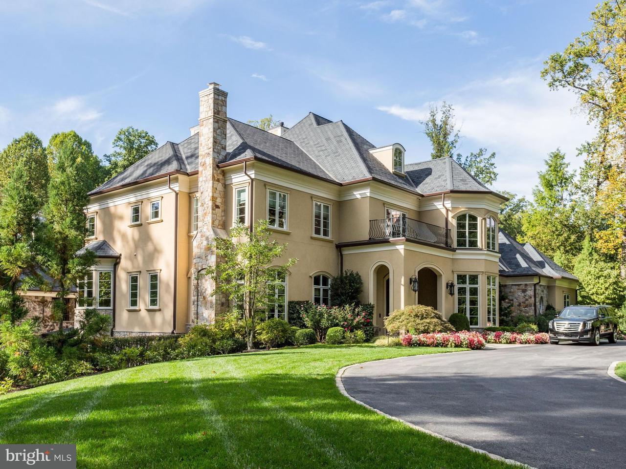 Частный односемейный дом для того Продажа на 9000 BURNING TREE Road 9000 BURNING TREE Road Bethesda, Мэриленд 20817 Соединенные Штаты