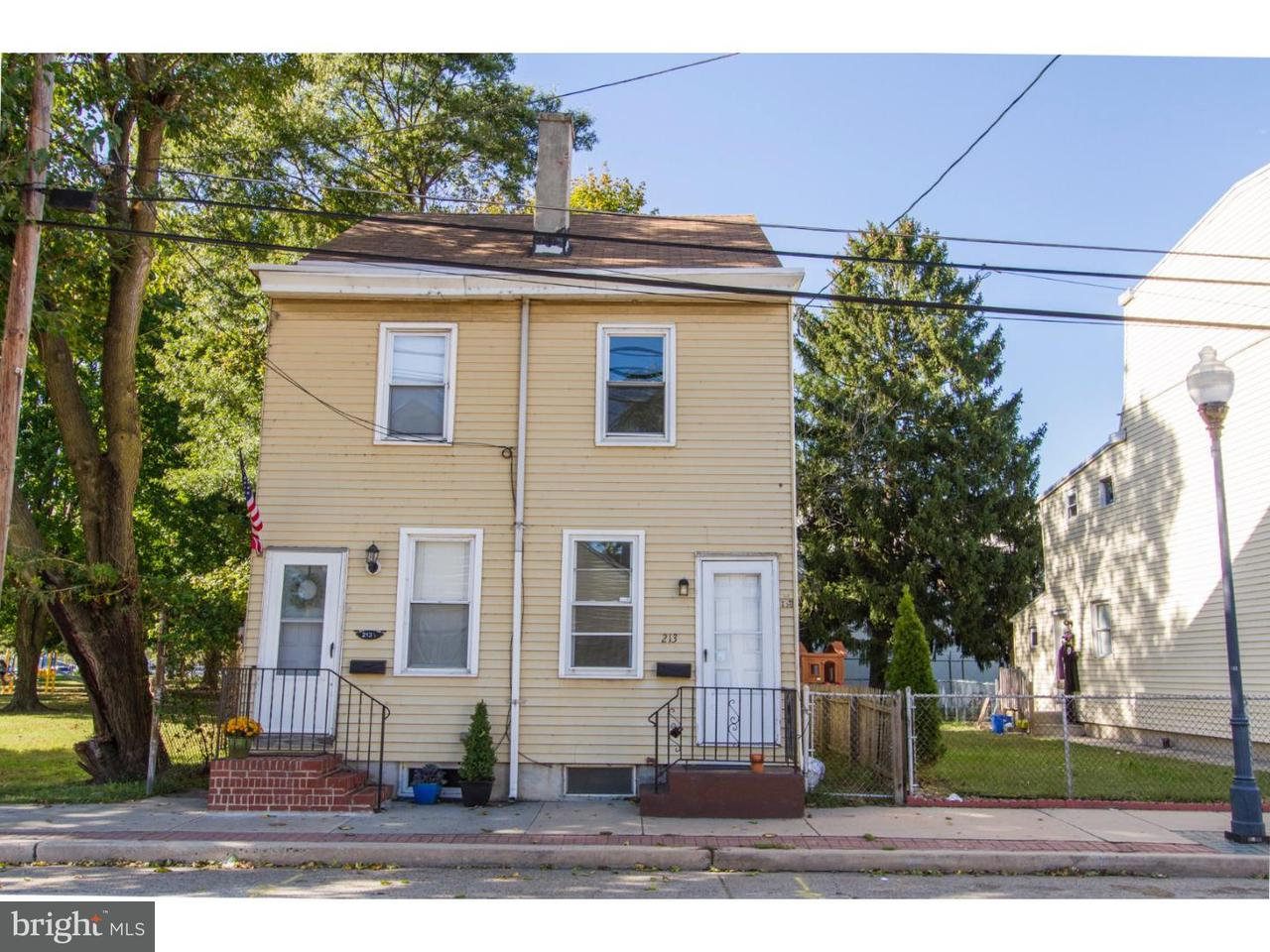 Townhouse for Rent at 213 S KING Street Gloucester City, New Jersey 08030 United States