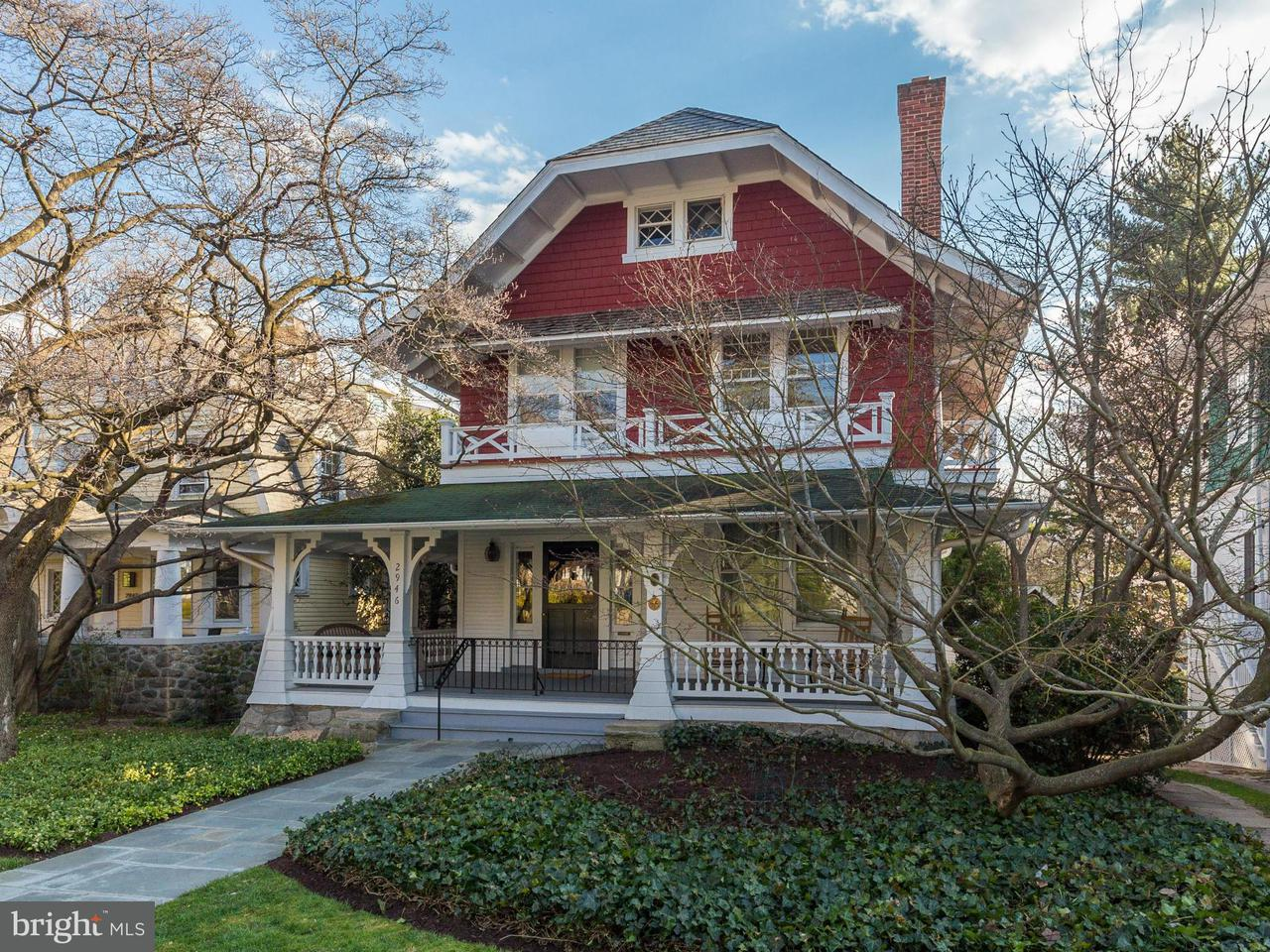 Single Family Home for Sale at 2946 NEWARK ST NW 2946 NEWARK ST NW Washington, District Of Columbia 20008 United States