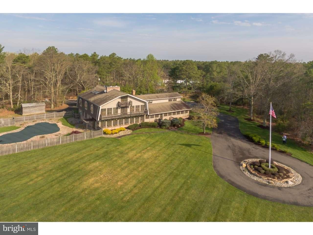 Частный односемейный дом для того Продажа на 46 GOOSE POND Road Tabernacle, Нью-Джерси 08088 Соединенные Штаты