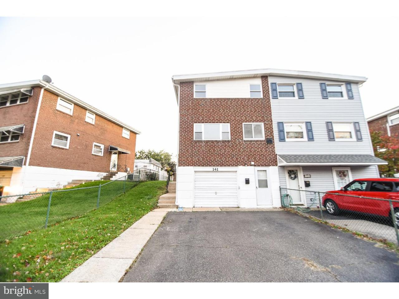 Townhouse for Sale at 141 CRUM CREEK Drive Woodlyn, Pennsylvania 19094 United States