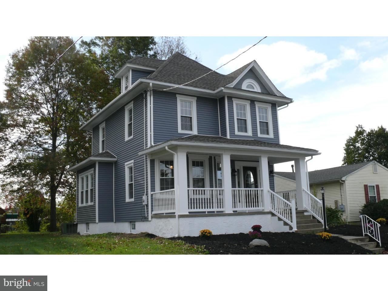 Частный односемейный дом для того Продажа на 318 E WASHINGTON Avenue Magnolia, Нью-Джерси 08049 Соединенные Штаты