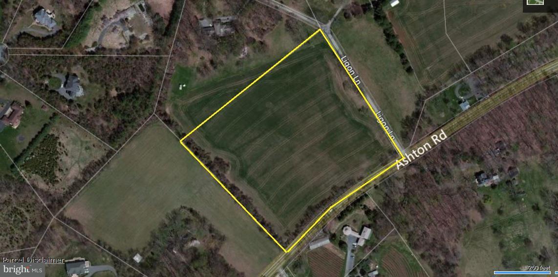土地 のために 売買 アット 250 ASHTON Road 250 ASHTON Road Ashton, メリーランド 20861 アメリカ合衆国
