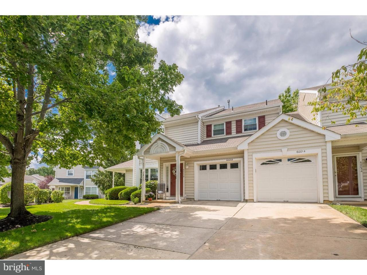Townhouse for Sale at 6001A NORMANDY Drive Mount Laurel, New Jersey 08054 United States