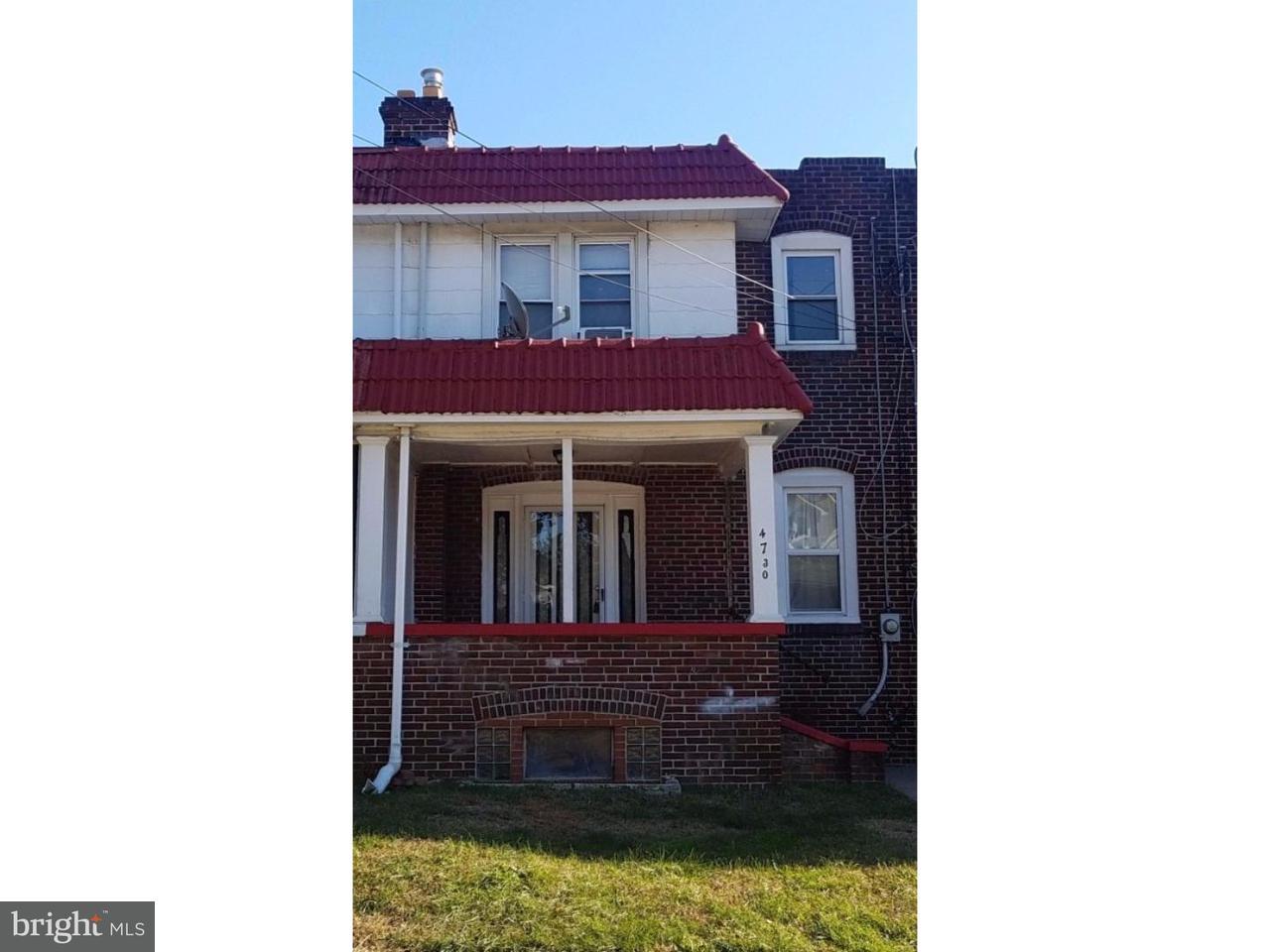 联栋屋 为 出租 在 4730 SHERWOOD TER Pennsauken, 新泽西州 08109 美国