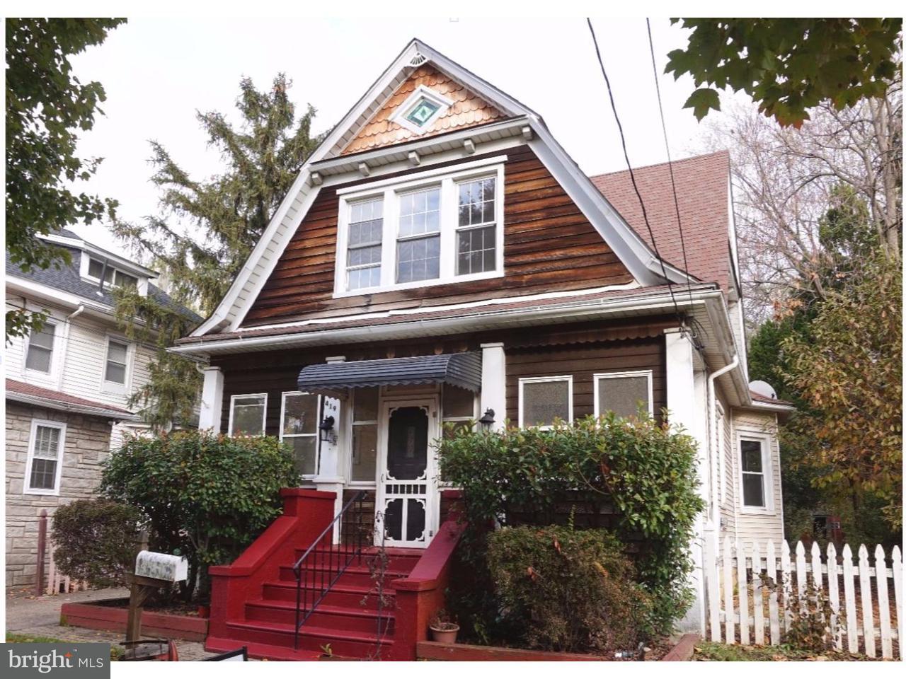 Частный односемейный дом для того Продажа на 419 RICHEY Avenue Oaklyn, Нью-Джерси 08107 Соединенные Штаты