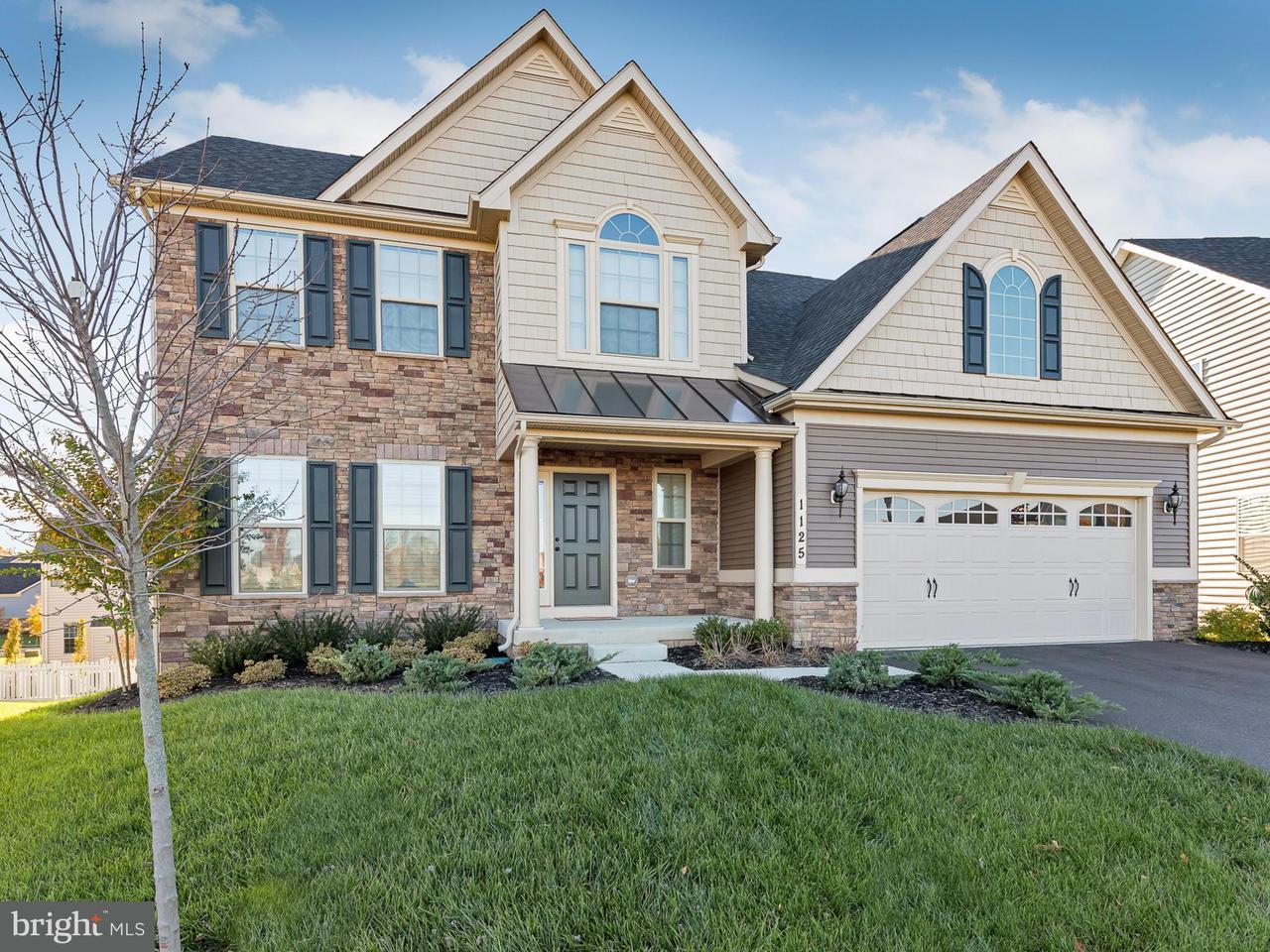 Частный односемейный дом для того Продажа на 1125 LONG FARM Circle 1125 LONG FARM Circle Brunswick, Мэриленд 21716 Соединенные Штаты
