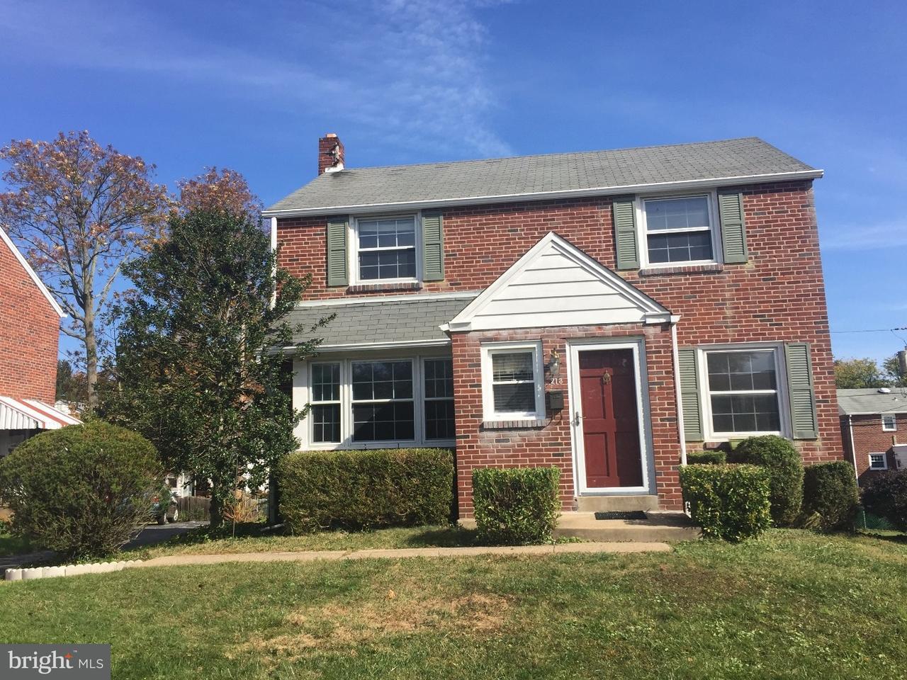 Casa Unifamiliar por un Alquiler en 213 CLAMAR Avenue Havertown, Pennsylvania 19083 Estados Unidos