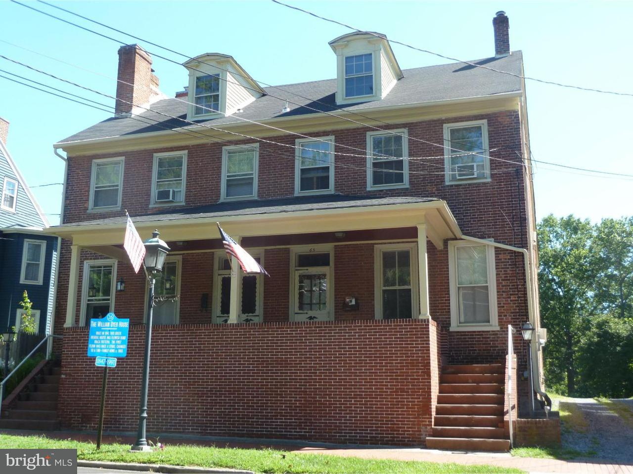 Townhouse for Rent at 64,63-65 S MAIN Street Medford, New Jersey 08055 United States
