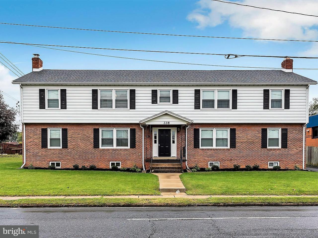 Mehrfamilienhaus für Verkauf beim 338 JEFFERSON Street 338 JEFFERSON Street Frederick, Maryland 21701 Vereinigte Staaten