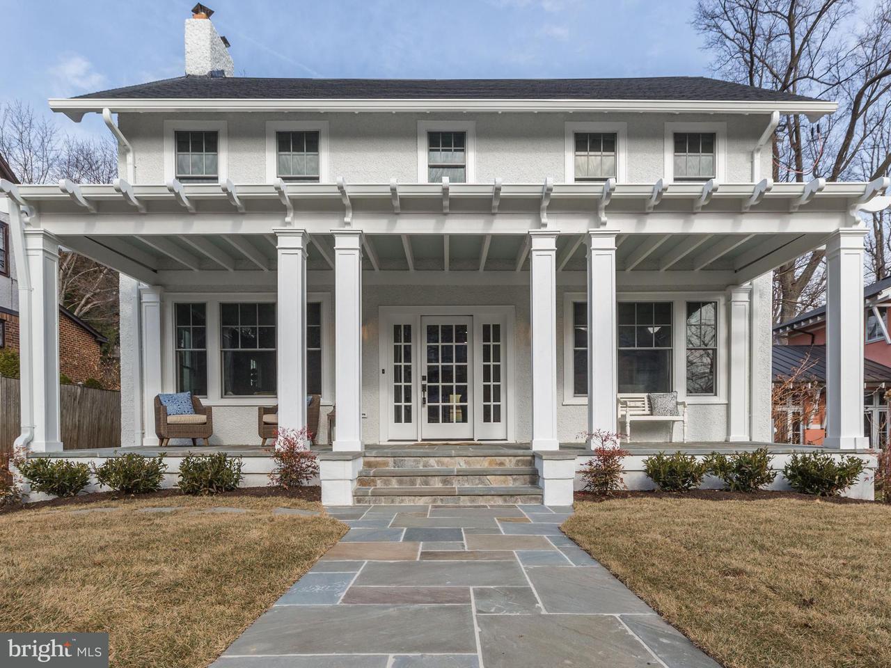 Частный односемейный дом для того Продажа на 3709 NORTHAMPTON ST NW 3709 NORTHAMPTON ST NW Washington, Округ Колумбия 20015 Соединенные Штаты