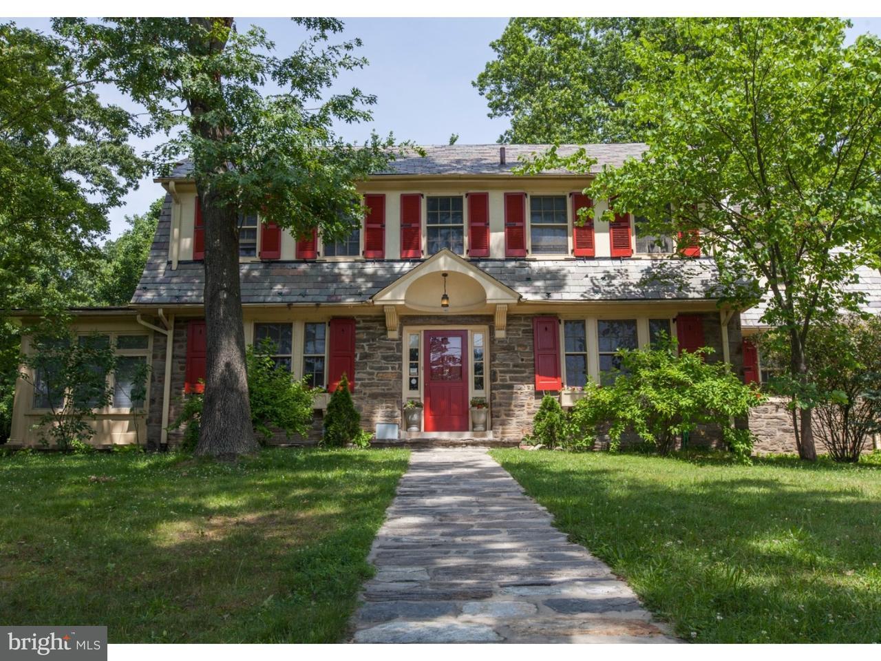 Casa Unifamiliar por un Venta en 1462 WHEATSHEAF Lane Abington, Pennsylvania 19001 Estados Unidos