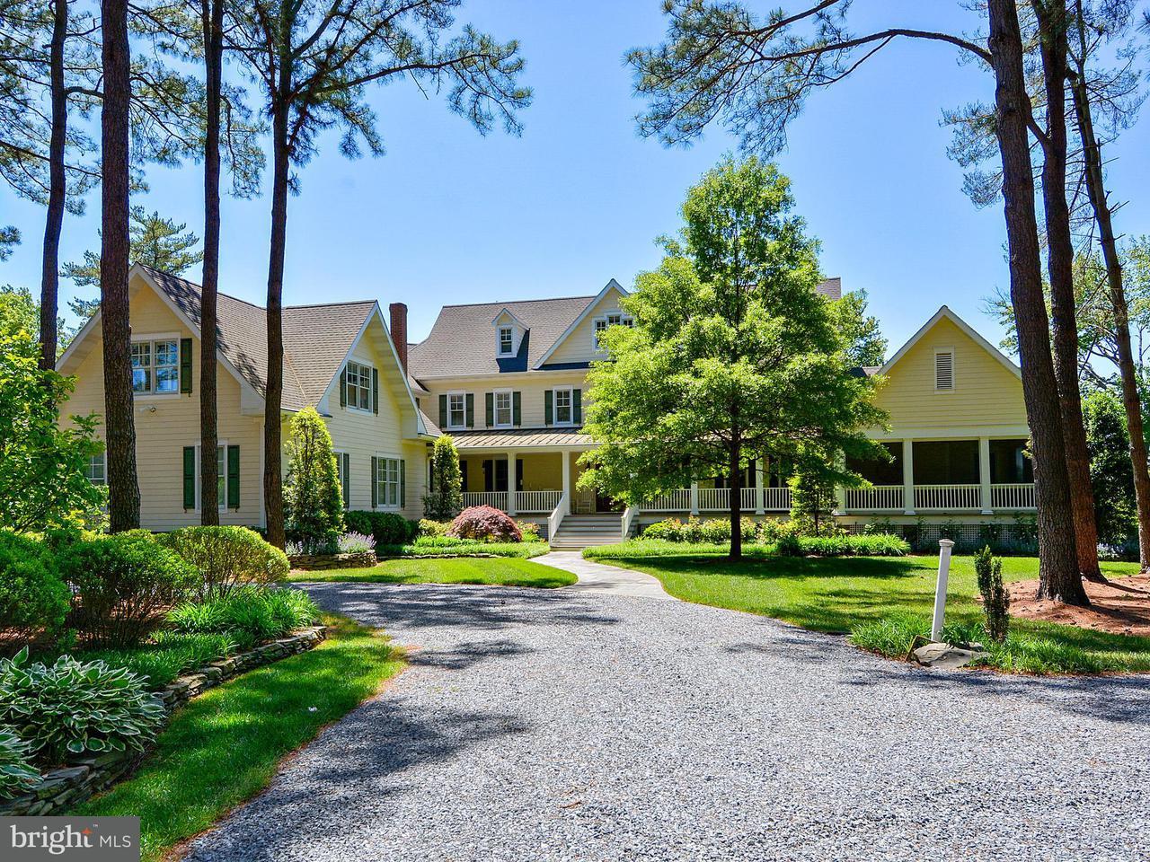 Частный односемейный дом для того Продажа на 25927 GOOSE NECK Road 25927 GOOSE NECK Road Royal Oak, Мэриленд 21662 Соединенные Штаты