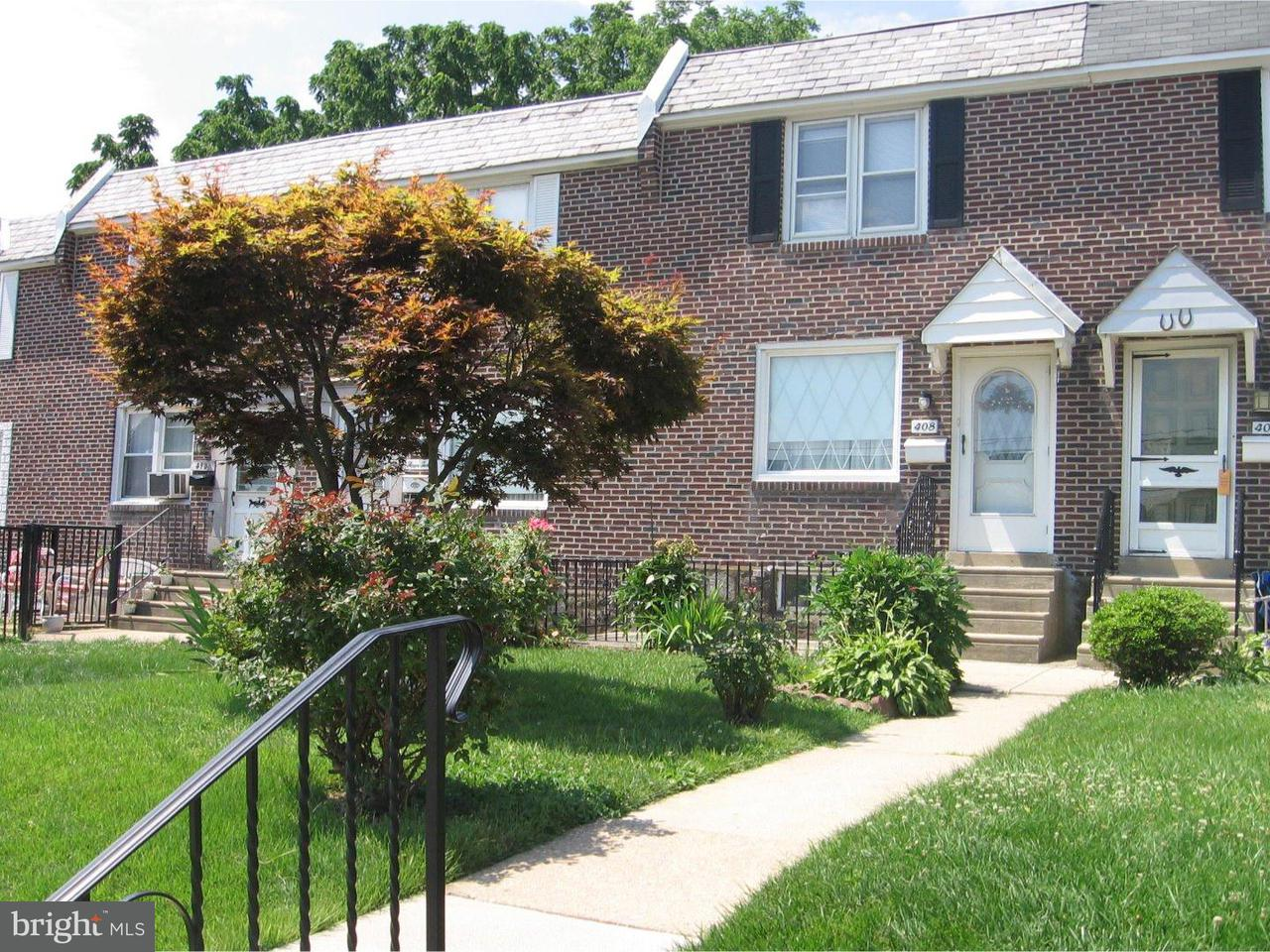 Townhouse for Sale at 408 S CHURCH Street Clifton Heights, Pennsylvania 19018 United States