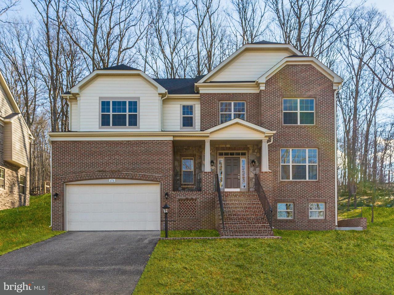 Casa Unifamiliar por un Venta en 6704 BOX TURTLE Court 6704 BOX TURTLE Court New Market, Maryland 21774 Estados Unidos