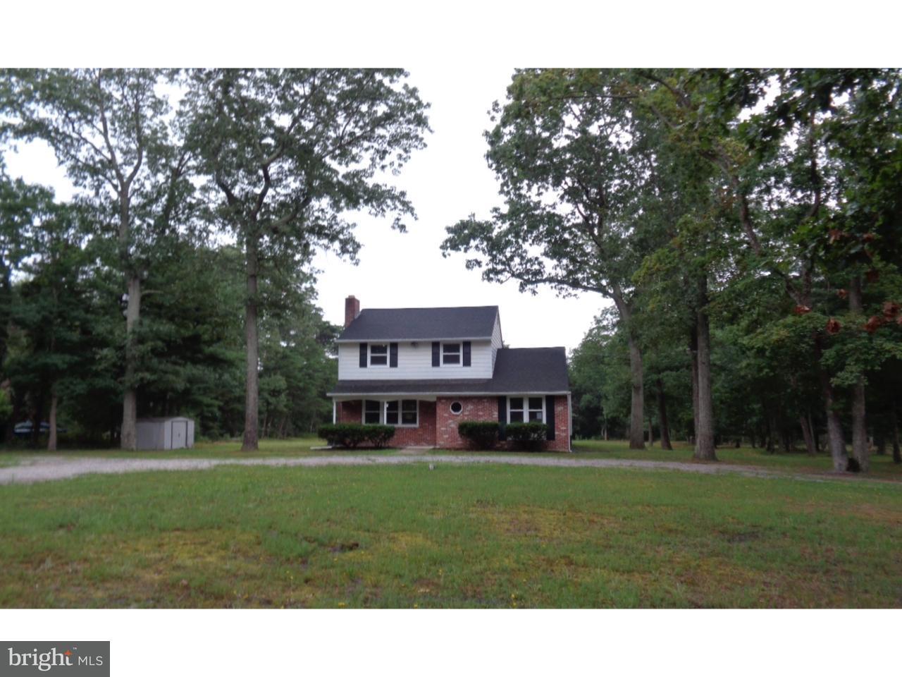 Частный односемейный дом для того Продажа на 2376 S FIRELANE Road Vincentown, Нью-Джерси 08088 Соединенные Штаты