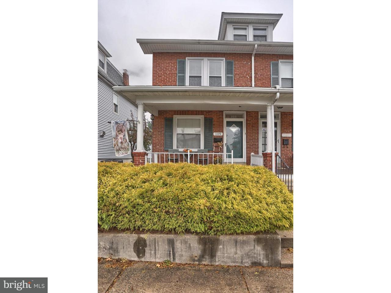 Townhouse for Sale at 109 TELFORD Avenue West Lawn, Pennsylvania 19609 United States