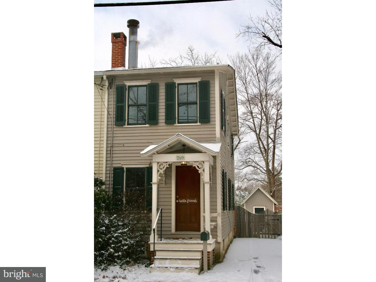 Townhouse for Rent at 269 LAKE Street Haddonfield, New Jersey 08033 United States